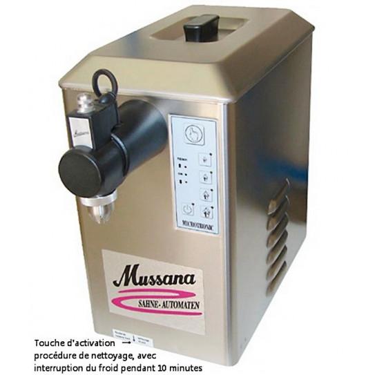 Système de nettoyage automatique - Machine à Chantilly Mussana
