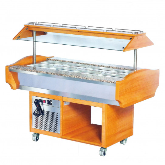 Buffet réfrigéré self salade bar - B1604RE L2G 7478.0005