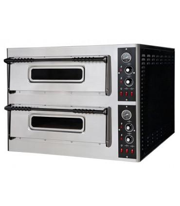 Four Pizzas électrique 2x6 pizzas XL66 - Dim extérieures 101x121x75cm - 18kW