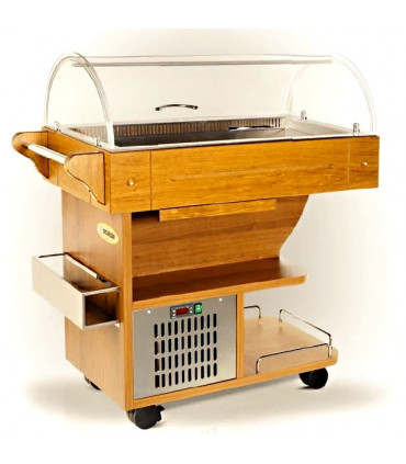 Buffet chariot desserte réfrigérée - CARRELINO SCAIOLA