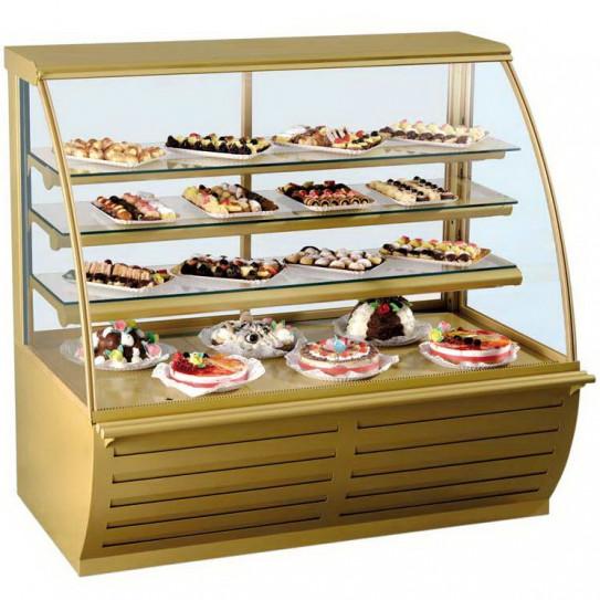 Vitrine réfrigérée pour sandwichs et viennoiserie +2°C/+4°C - VIENNA 2 SVA-135 DIAMOND LRG