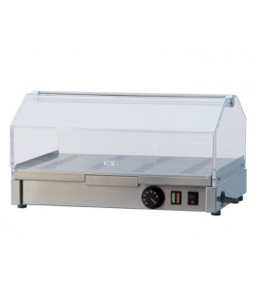 Vitrine chauffante professionnelle 500x350x270mm - VEC-510 RM GASTRO
