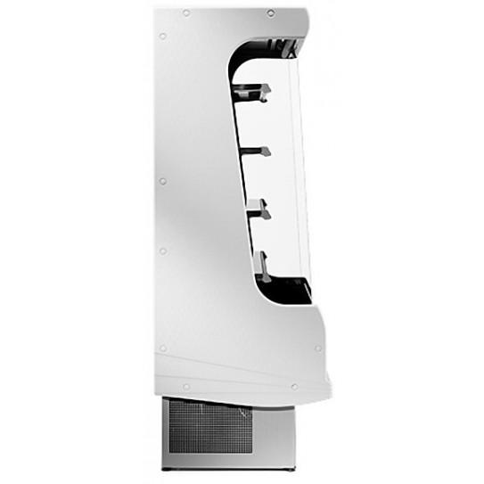 Vitrine murale réfrigérée ventilée 200 vue latérale - EM20-G/A1 DIAMOND