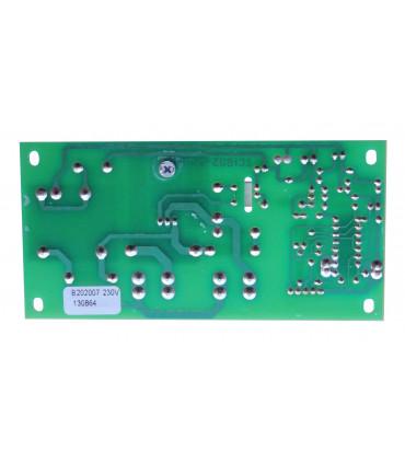 Carte fiche de puissance électronique pour façonneuse pizza IGF ou GAM - Dimension plaque ≃ 125x62mm