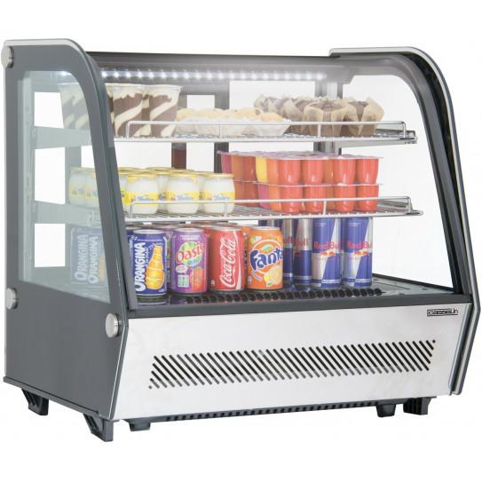 Vitrine réfrigérée ventilée à poser 120 L froid positif - CVR120L Casselin