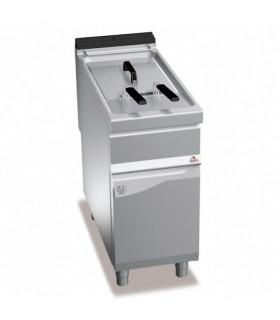Friteuse électrique 22L 2 paniers 22kW -  40x90x90cm - TURBO BERTO'S MAXIMA 900 E9F22-4MS 20515600
