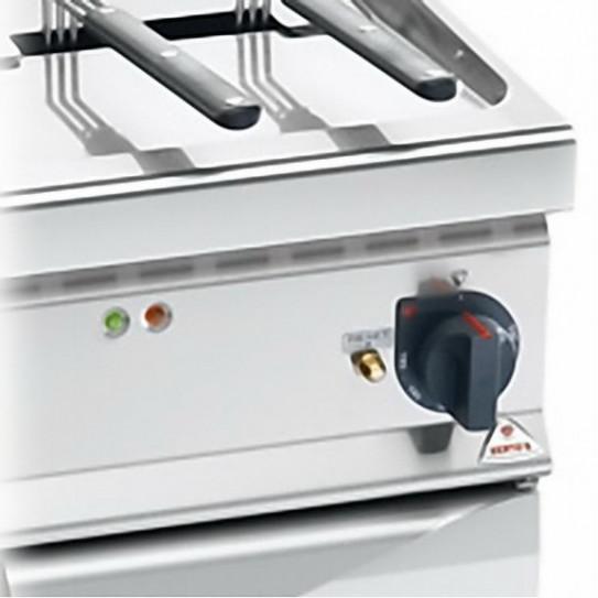 Détail friteuse électrique 22 litres 22 kW TURBO BERTOS E9F22-4MS