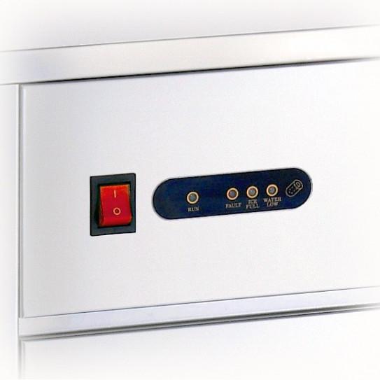 Détail tableau de commande machine à glaçons pro 35kg/24 h - C40 Bartscher 104040