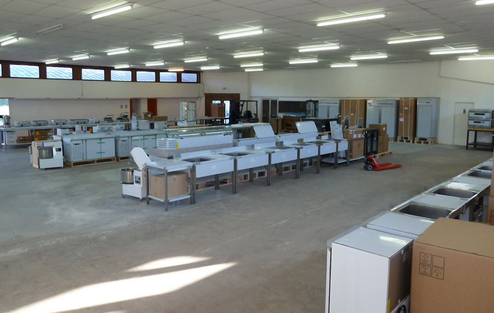 StockResto hall d'exposition matériel de restauration